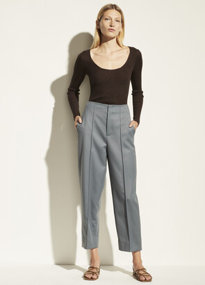 Vince High Waist Tapered Crop Pant