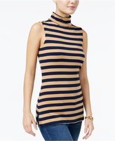 Tommy Hilfiger Gigi Sleeveless Turtleneck Top, Only at Macy's