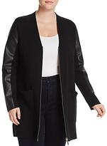 MICHAEL Michael Kors Faux-Leather Jacket