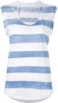 Rag & Bone Jean - striped sleeveless top - women - Cotton - M