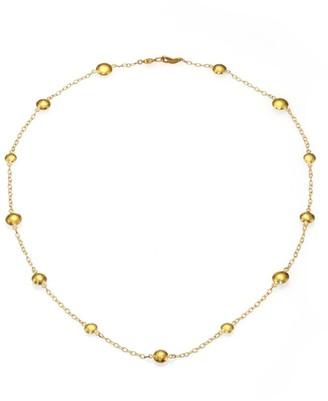 Gurhan Lentil 24K Yellow Gold Mini Station Necklace