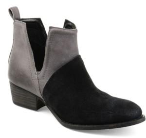 Journee Signature Women's Dempsy Booties Women's Shoes