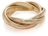 Kenneth Jay Lane Small Snake Chain Bracelet/Goldtone
