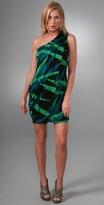 Diane Von Furstenberg Juan One Shoulder Dress