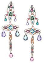 Lanvin Crystal Chandelier Clip-On Earrings