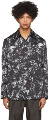 Kanghyuk Black Camo Airbag Shirt