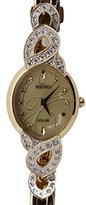 Seiko Women's Japanese Quartz Stainless Steel Watch, Color:Gold-Toned (Model: SUP342)