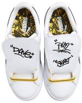 Puma x Minions Basket Embroidered Tongue Sneaker