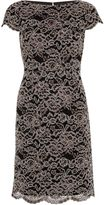 Gina Bacconi Vintage Corded Lace Dress