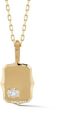 Jade Trau Vanguard Medallion Necklace - Yellow Gold