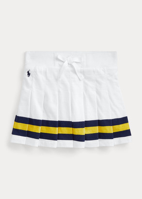Ralph Lauren Pleated Cotton Skort