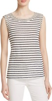 Generation Love Lucy Crystal Stripe Tank