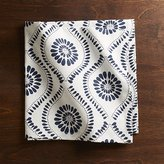 Crate & Barrel Kiran Indigo Dinner Napkin