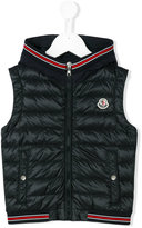 Moncler padded vest - kids - Cotton/Feather Down/Polyamide/Polyamide-8 - 4 yrs