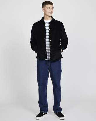 Coach Lois Jeans - Quilted Jacket in Cord Blue