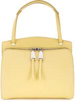 Jil Sander double zip shoulder bag - women - Calf Leather - One Size