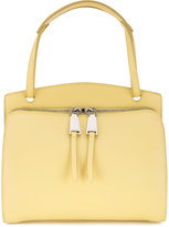 Jil Sander double zip shoulder bag