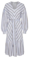 Gestuz Blue Stripe Umay Dress - 34