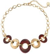 Dana Buchman Textured Oval Necklace