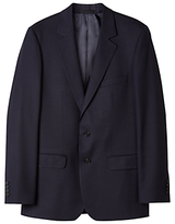 Aquascutum Twill Wool Suit Jacket, Navy