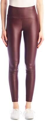 I Love Tyler Madison The Vicky Waxed Body-Shaper Leggings