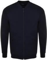 Barbour Carfin Full Zip Sweatshirt Navy