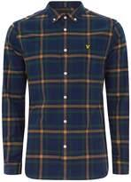 Topman Lyle & Scott Navy Check Shirt