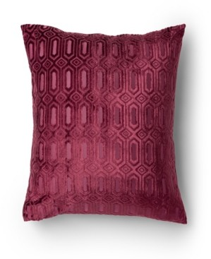 Protect A Bed Sanibel Cut Velvet Decorative Throw Pillow