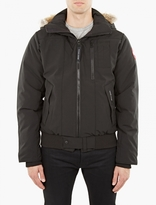 Canada Goose Black Borden Bomber Jacket