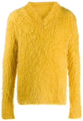 Marni Brush-Finished Mohair Jumper