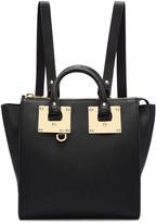 Sophie Hulme Black Small Holmes Backpack