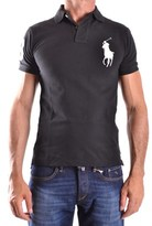 Ralph Lauren Men's Black Cotton Polo Shirt.