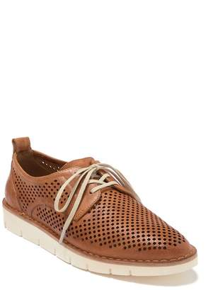 Trask Lena Perforated Leather Sneaker