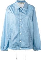 MAISON KITSUNÉ snap fastening raincoat - women - Polyamide - S