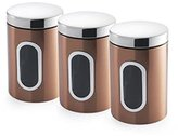 Addis Canisters, Set of 3, Copper