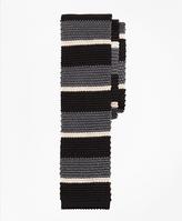 Brooks Brothers Bold Stripe Knit Tie