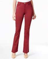 Lee Platinum Petite Gwen Straight-Leg Jeans, A Macy's Exclusive