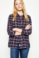 Jack Wills Shotland Boyfriend Multicheck Shirt