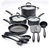 Cuisinart 13-pc. Hard-Anodized Nonstick Aluminum Cookware Set