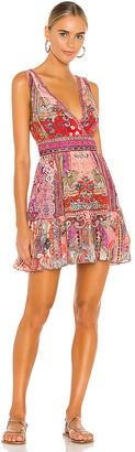 Camilla Panelled Short Dress
