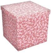 Dar 15x15 Storage Ottoman - Hello Kitty Pink