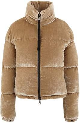 Moncler Rimac velvet down jacket