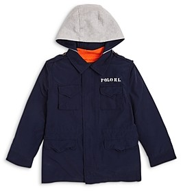 Ralph Lauren Polo Boys' Combat 3-in-1 Hooded Jacket - Little Kid