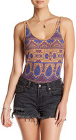 Free People All She Needs Print Bodysuit