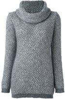 Fay roll neck jumper - women - Silk/Lurex/Mohair/Alpaca - S