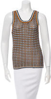 Etro Patterned Sleeveless Top