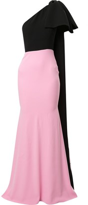 Alex Perry Anderson one-shoulder dress