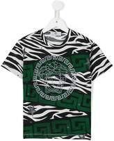 Versace animalier print T-shirt