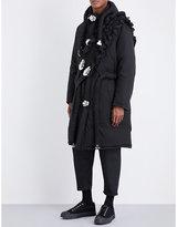 Craig Green Cross-panel cotton-blend down coat