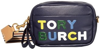 Tory Burch Perry High Frequency Mini Bag (Royal Navy) Handbags